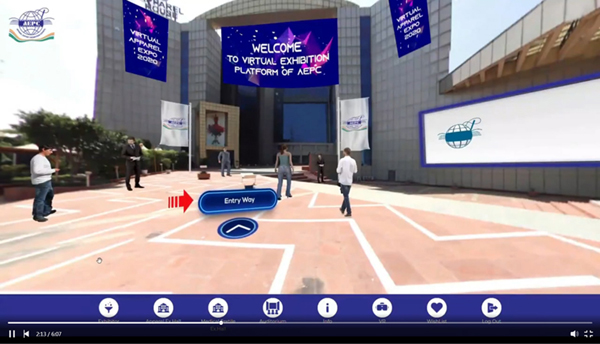 Virtual platform of AEPC inaugurated by Indian Vice President