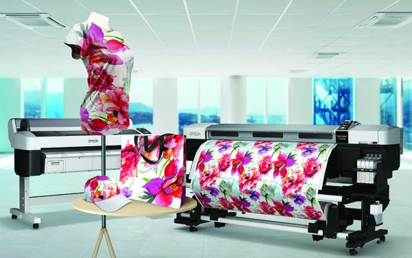 Epson ranks No.1 in Textile Dye Sublimation Printer category