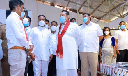 Sri Lanka PM opens DAG Apparel factory in Moneragala