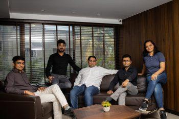 Fabcurate Directors (from left) Ashish Mulani, Sanjay Desai, Sagar Mulani, Satish Panchani and Urvisha Panchan