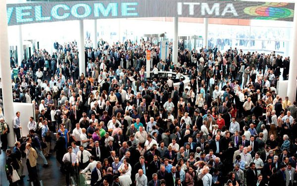 Textile and garment technology exhibition ITMA 2023 opens space application