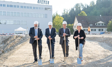 Foundation Stone laid for new Reiter Campus in Winterthur